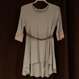Altar'd State shirt with lace cuffs